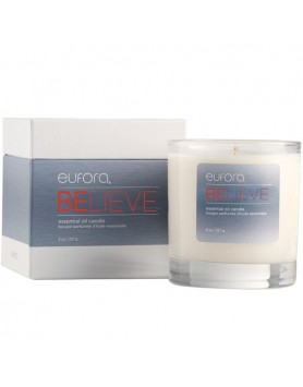 eufora wellness BELIEVE essential oil candle